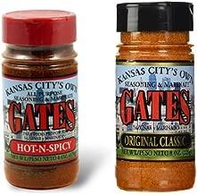 Gates Bar-B-Q All Purpose Original Classic) & Hot n Spicy 2 Pack Bundle
