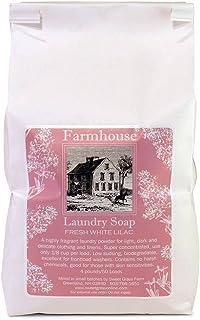 Sweet Grass Farm Farmhouse Laundry Soap Baking Soda Borax Lilac 4 Pound Bag