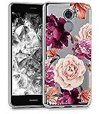 BAISRKE Huawei Ascend XT2 Case, Huawei Y7 Prime Case with Flowers Slim...