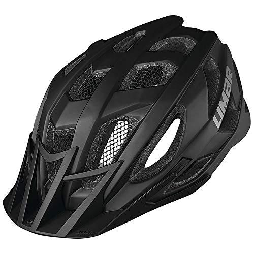 Limar Fahrradhelm 888 Gr.L 59-63cm schwarz matt ca. 270g Fahrrad