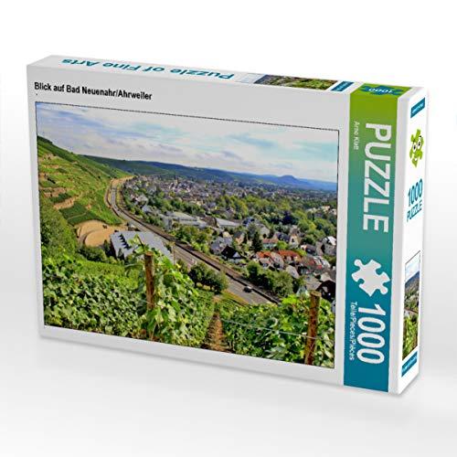 CALVENDO Puzzle Blick auf Bad Neuenahr/Ahrweiler 1000 Teile Lege-Größe 64 x 48 cm Foto-Puzzle Bild von Arno Klatt