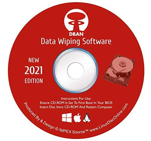 DBAN Hard Drive Eraser Disk Wiper & Secure Data Clearing Utility