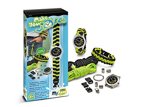 Revell myArts 30724 - Armbänder, Make Your Watch, schwarz/neon grün