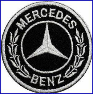 Mercedes-Benz Motorsport Car Racing Team Applikationen Hut Cap Polo Rucksack Kleidung Jacke Shirt DIY Bestickt Bügelbild