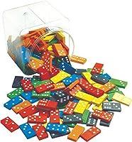 Learning Advantage 7320 Domninos 168 Piece Set 6 Colors 6.5 Height 5.5 Width 5.5 Length [並行輸入品]