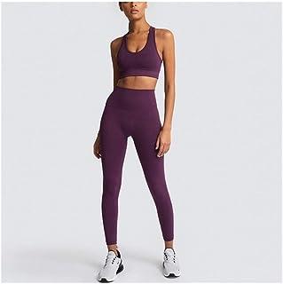FBABY Women's Yoga Set Seamless Sportswear Gym Yoga Clothes Sports Bra + Leggings Running Wear Skinny Sports Set Suits (Co...