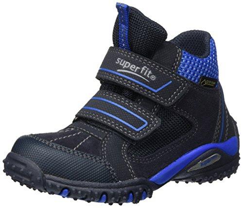 Superfit Jungen SPORT4 Hohe Sneaker, Blau (Ocean Kombi), 40 EU