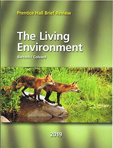 Prentice Hall Brief Review Science 2019 New York Living Environment Student Edition Grade 9/12