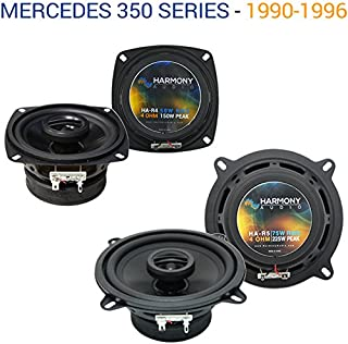 Replacement Car Audio Speakers for Mercedes 350 Series 1990-1996 Harmony R4 R5 Package