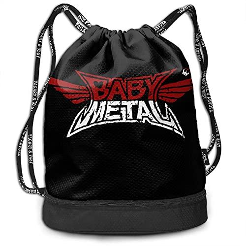 VJSDIUD Mochila Beam Babymetal Hikers Bundle Backpack Shoe Bags For Men/Women And Kids