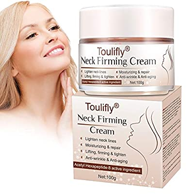 Neck Firming Cream, Neck Anti-Wrinkle Cream, Anti Aging Moisturizer for Neck & Décolleté, Neck Firming Cream for Double Chin and Sagging Skin, Neck, Chest & cleavage Skin Care for Men & Women