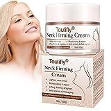 Hals Creme, Neck Cream, Neck Firming Cream, Anti Falten Halscreme, Hals Creme Straffend, Anti-Falten/Aging glatte Haut, Für einen faltenfreieren, strafferen Hals 100g