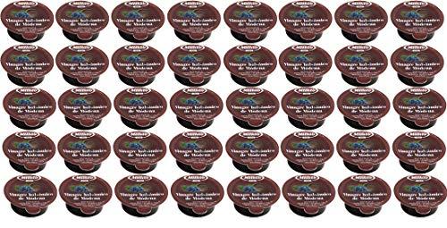 Monodosis individuales para hostelería Aceite, Vinagre, Módena, Sal, Pimienta (40 tarrinas Vinagre de Módena 10ml)