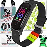 Kids Fitness Tracker Watch for Kids - Temperature Oxygen HR Heart Rate Activity