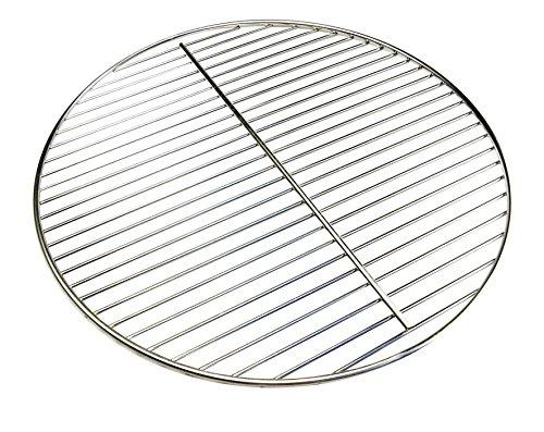 Grillclub 54,5 cm Edelstahl Grillrost ! Stab zu Stab nur 10 mm ! auch für Kugelgrill 57 Weber / 6mm Rahmen / 4mm Stäbe/Grill, Rost, Rundgrill, rund