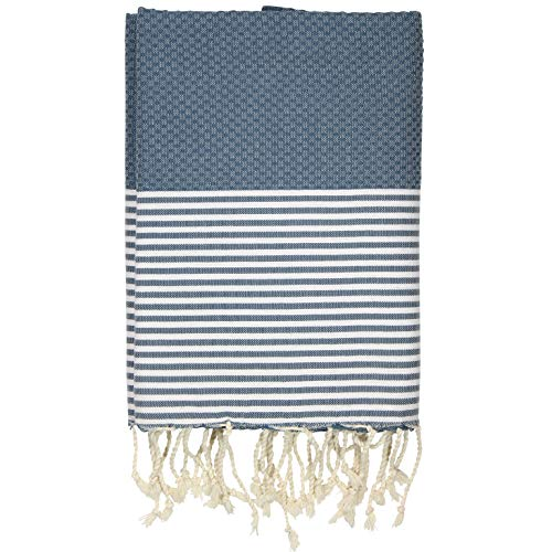 FFsense Fouta Turkish Towel - Cotton, Extra Large, Quick Dry, Ultra...