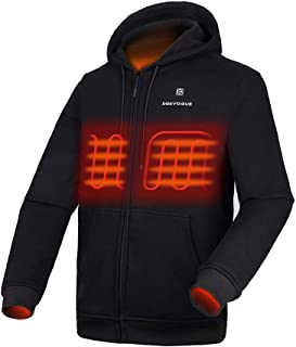 [2019 Upgrade Heated Hoodie with Battery Pack (Unisex), Heated Hoodie for Men and Women