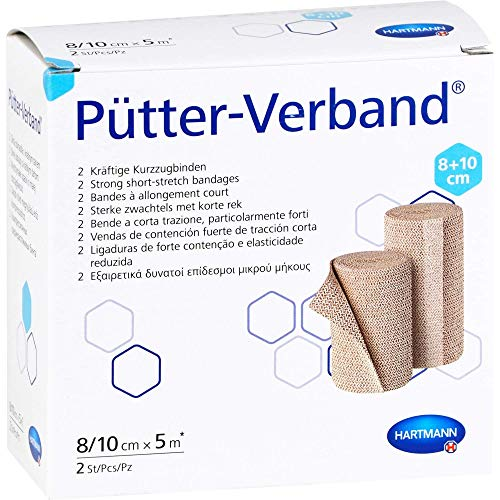 PÜTTER Verband 8/10 cmx5 m 2 St