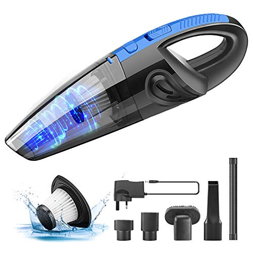 TABIGER Handheld Vacuum, Cordless Car Vacuum Cleaner Rechargeable 120W Powerful...