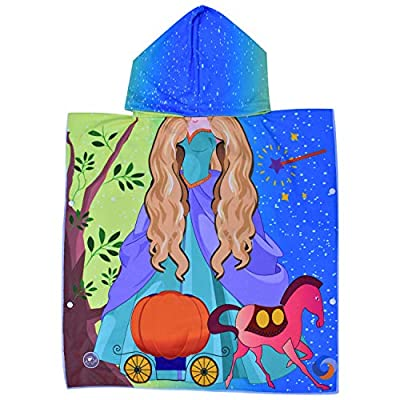 ELITE TREND Hooded Bath Beach Towel Set? Super Soft for Baby,Boys,Girls,Toddlers. Comes with a Story Book, Great for Pool Swimming Coverup, Ponchos, Robes or Capes, 1-7 Years Kid
