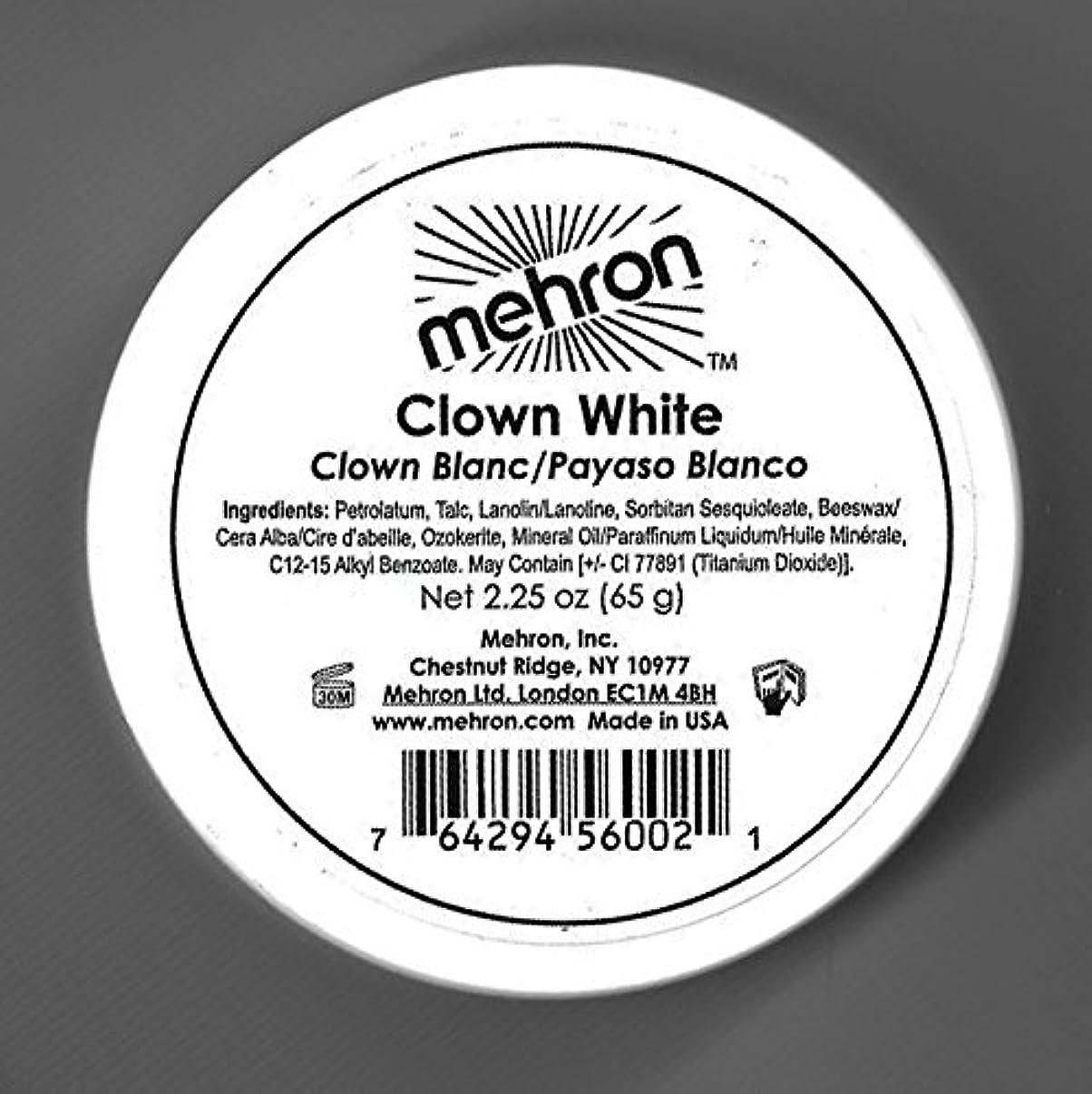 幽霊無視できる自己尊重mehron Clown White - Clown White (並行輸入品)