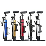 Bike Hand Sport and Cycling Bicycle AIR Pump Ball Basketball TYRE Soccer Silver 1 pcs