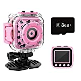 Ourlife Kids Camera Toys for Girls Aged 3-9, HD Digital Video Cameras...
