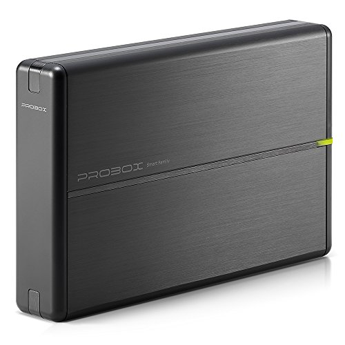 "Mediasonic USB 3.0 3.5"" SATA hard drive enclosure with Aluminum Body Support SATA 3 6.0Gbps hdd speed and UASP (HDL-SU3)"