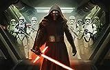 YJXL Película Star Wars El Despertar de la Fuerza,Puzzle 1000 Piezas Adultos 3D Juguete Educativo Intelectual de descompresión Divertido Juego Familiar DIY cumpleaños Regalos 75x50cm