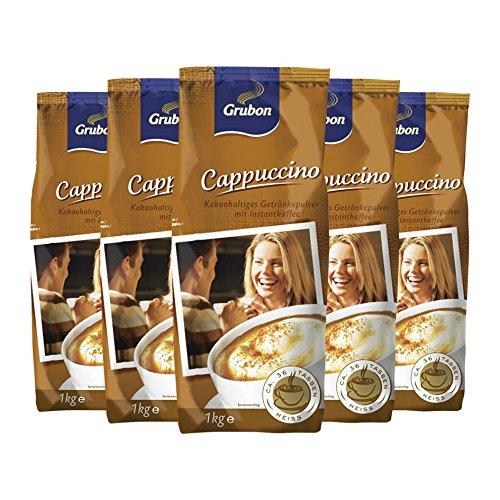 Grubon Cappuccino 1000g 5er Pack