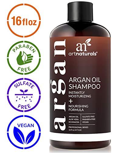 ArtNaturals Moroccan Argan Oil Shampoo - (16 Fl Oz / 473ml) - Moisturizing, Volumizing Sulfate Free...