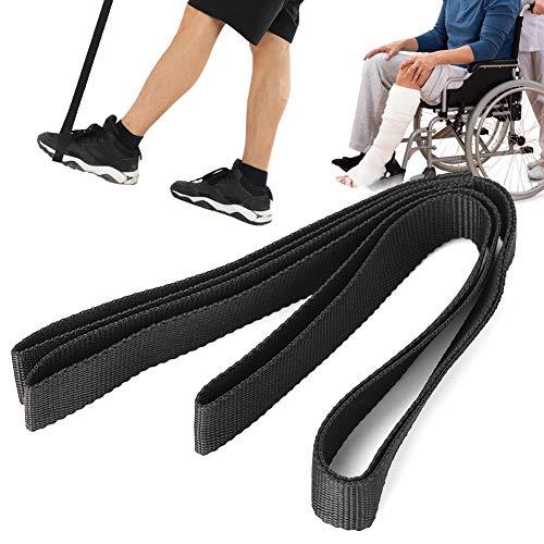 Beinhebergurt, Nylon-Mobilitätshilfen Beinheber mit Fußstreifenmobilität für Hilfsmittel, Behinderung, ältere Menschen