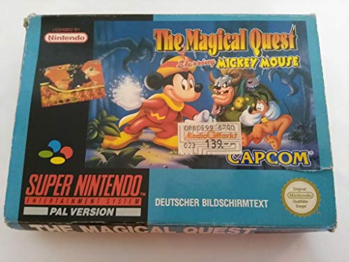 The Magical Quest Starring Mickey Mouse [Nintendo Super NES]
