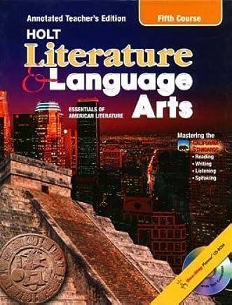 Holt Literature And Language Arts Grade 11 Kylene Beers