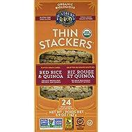 Lundberg Lundberg Organic Thin Stackers Red Rice and Quinoa, 167 Grams