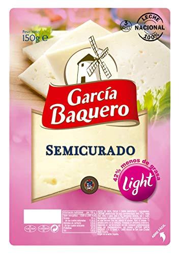 García Baquero Queso Semicurado Light Lonchas, 150g
