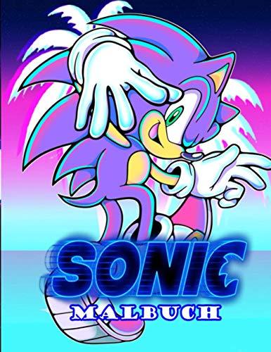 sonic malbuch: Sonic Malbuch Mit Exklusiven Inoffiziellen Bildern Für Alle Fans