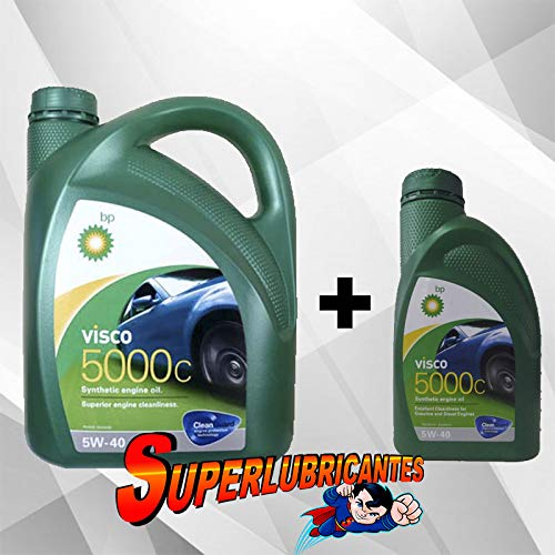 Mundocoche BP Visco 5000C 5W40 1+4L(5Litros)