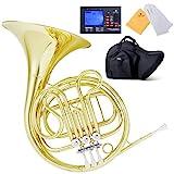 Mendini MFH-20 Single Key of F Brass French Horn...
