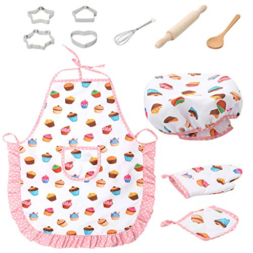 Muium 11pcs Set de Cocina para Hornear para niños Cocina y Hornear...