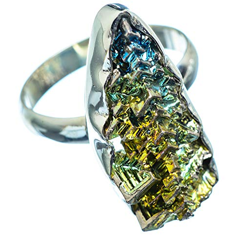 Ana Silver Co Bismuth Crystal 925 Sterling Silver Ring Size 9.25 (925 Sterling Silver) - Handmade...