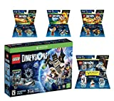 Lego Dimensions Starter Pack + The Legend of Chima Laval + Eris + Cragger Fun Packs + Portal 2 Level Pack for Xbox One