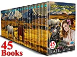 45 Books Western Romance Clean Sweet 12 Complete Series  Mega Box Set (Mega Box Set Series Book 13)