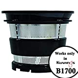 Kuvings B1700 Smoothie Strainer (Works only with Kuvings B1700 Cold Press Juicer)
