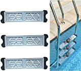 Swimming Pool Ladder Pedal Stainless Steel Ladder Step Replacement, Swimming Pool Escalator Pedal Rung, Anti...