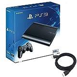 PlayStation3 チャコール ブラック 500GB (CECH4300C) 【Amazon.co.jp限定】特典アンサー PS3用 HDMIケーブル2.0M付