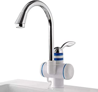 Kitchen Sink Tools 220V 3000W Smooth and Refined friendly design Instant Electric Hot Water Heater Faucet Bathroom Kitchen Heating Tap