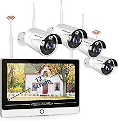 best wireless security camera with monitor for indoor and outdoor