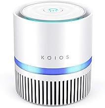 KOIOS Air Purifier, Desktop Air Filtration with True HEPA Filter, Compact Home Air..