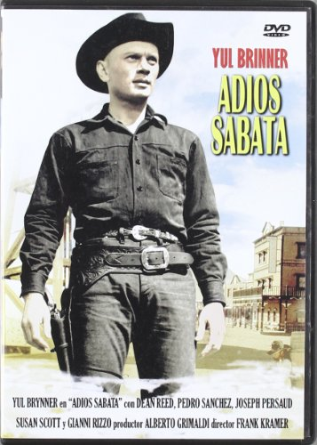 Adios Sabata [2009] *** Region 2 *** Spanish Edition ***